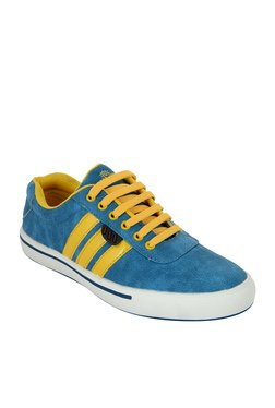 Fashion Victim Funky Boys Style Statement Blue Sneakers