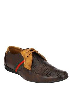 Prolific Dark Brown & Tan Boat Shoes