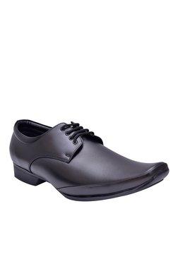 Fashion Victim Big Men Impressive Black Derby Shoes
