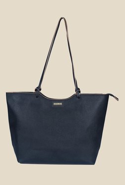 Vero Moda Pilla Black Solid Tote Bag