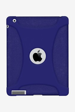 Amzer Silicone Skin Jelly Case For Apple IPad 4 (Blue)