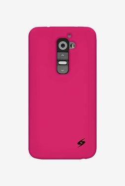 Amzer Silicone Skin Jelly Case for LG G2 D802 (Hot Pink)