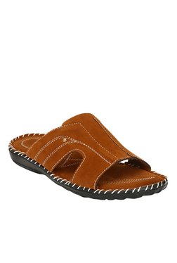 Afrojack Touch Tan Casual Sandals