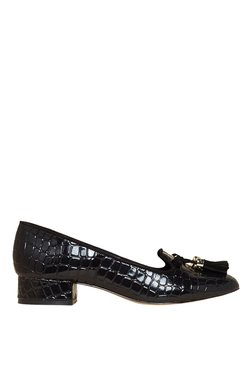 Carvela By Kurt Geiger Language Black Moccasins