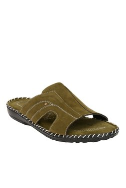 Afrojack Touch Olive Casual Sandals