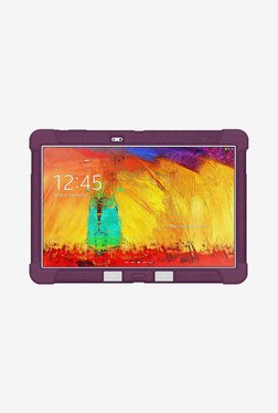 Amzer Silicone Skin Jelly Case For Galaxy Note 10.1 (Purple)