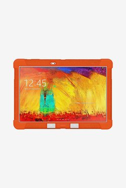 Amzer Silicone Skin Jelly Case For Galaxy Note 10.1 (Orange)