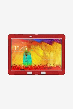 Amzer Silicone Skin Jelly Case For Galaxy Note 10.1 (Red)