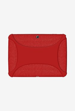 Amzer Silicone Skin Jelly Case For Galaxy Tab 3 10.1 (Red)