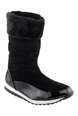 Shuz Touch Black Snow Boots