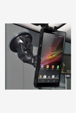 Amzer Suction Cup Mount For Sony Xperia ZL L35a (Black)