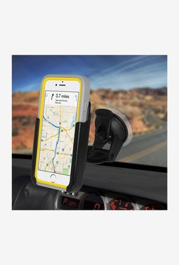Amzer CRUSTA Suction Cup Mount For IPhone 6, 6s Plus (Black)