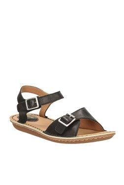 83dbab22a9b6 TATACLIQ. Clarks Tustin Sea Black Ankle Strap Sandals
