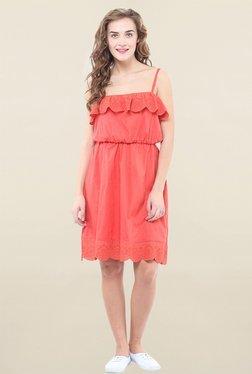 Pryma Donna Coral Lace Dress