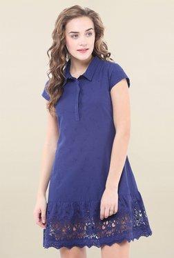 Pryma Donna Blue Embroidered Dress