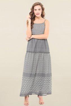 Pryma Donna Grey Printed Dress