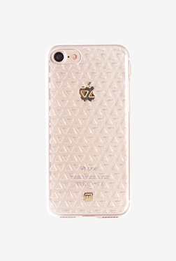 Marvelouxx Triangle 3D Pattern Case for iPhone 7 (Clear)