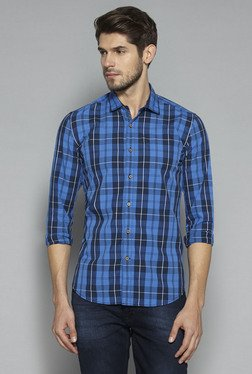 Westsport by Westside Indigo Slim Fit Shirt