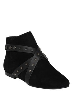 Bruno Manetti Black Casual Booties