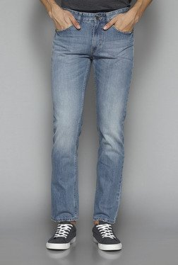 Westsport by Westside Light Blue Slim Fit Jeans