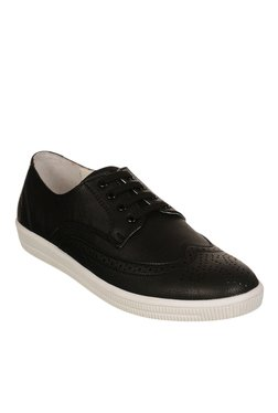 Bruno Manetti Black Brogue Sneakers