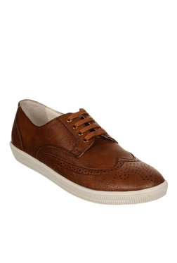 Bruno Manetti Brown Brogue Sneakers