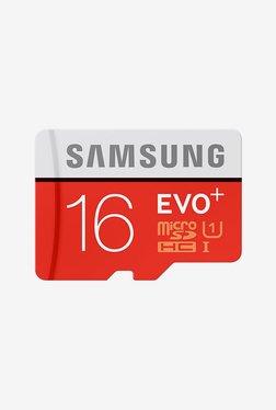 Samsung Evo Plus 16 GB Class 10 MicroSDHC Memory Card