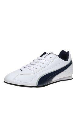 Puma Wirko XC 3 DP White & Navy Sneakers