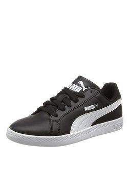 Puma Smash Black & White Sneakers