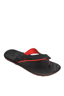 2adf0fc478b79a Rider R1 Ad Black Flip Flops for Men online in India at Best price ...