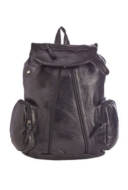 Vero Couture Black Zip Detail Backpack