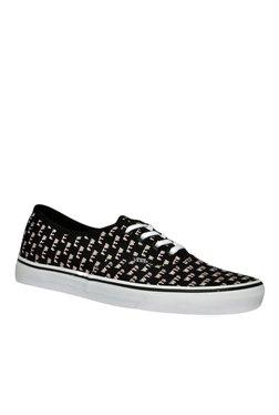 Vans Authentic Sayings Black & White Sneakers