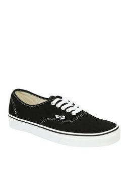Vans Authentic Checkerboard Black & White Sneakers