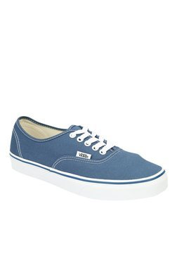 Vans Authentic Checkerboard Blue & White Sneakers