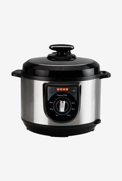 Usha EPC 3650 5L Electric Pressure Cooker (Black/Silver)