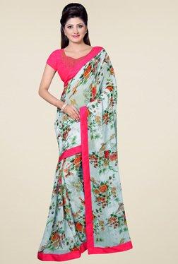 Saree Mall Off-white Printed Saree
