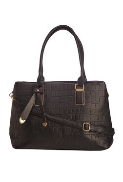 Vero Couture Black Bow Detail Shoulder Bag