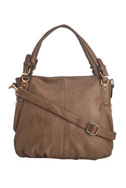 Vero Couture Brown Solid Shoulder Bag