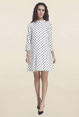 Vero Moda White Polka Dot Dress