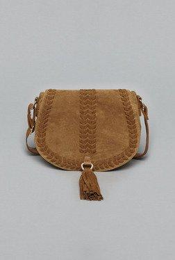 LOV By Westside Brown Katie Sling Bag