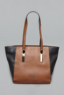 LOV By Westside Brown Diana Shoulder Bag