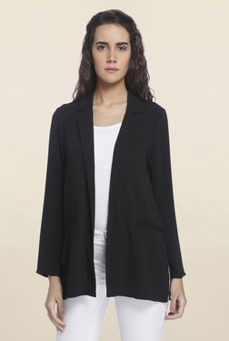 Vero Moda Black Solid Blazer - Mp000000001246568