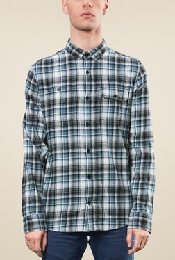 s.Oliver White Full Sleeves Shirt