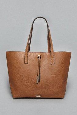 LOV By Westside Tan Suzina Reversible Tote Bag