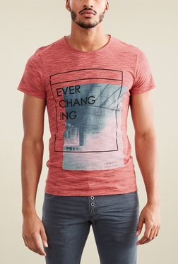 s.Oliver Coral Short Sleeves T-Shirt