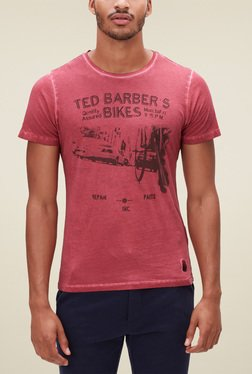 S.Oliver Pink Short Sleeves T-Shirt