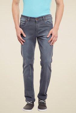 Duke Grey Mid Rise Jeans