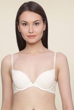 Zivame Ivory Full Coverage Padded T-Shirt Bra