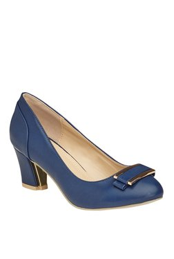 Vero Couture Navy Casual Pumps