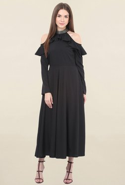Honey & B Black Midi Dress